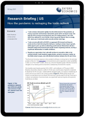 How the pandemic is reshaping the trade outlook page1