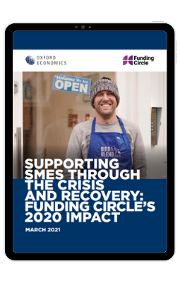 Supporting SMEs through the crisis and recovery Funding Circles 2020 impact - iPad