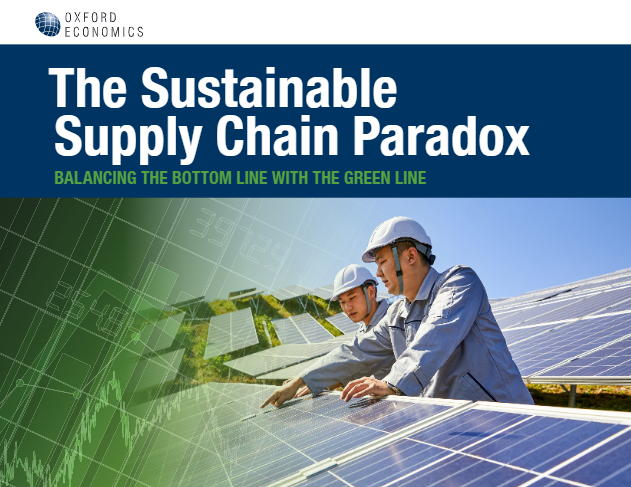 The Sustainable Supply Chain Paradox - report