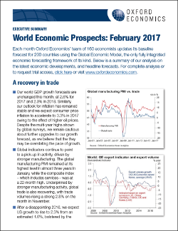 world economics prospects