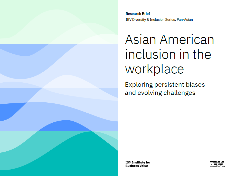 Asian American inclusion in the workplace