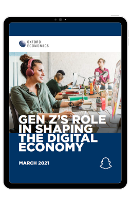 Gen Zs Role in Shaping the Digital Economy - iPad