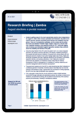 cover image of the research briefing