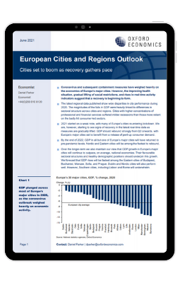 Research Briefing - Cities set to boom as recovery gathers pace