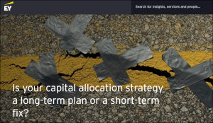 Is your capital allocation strategy a long-term plan or a short-term fix