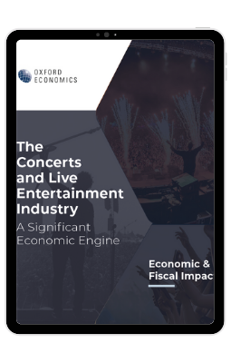 The Concerts and Live Entertainment Industry - iPad