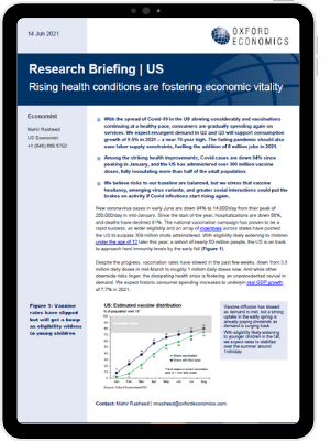 US   Rising health conditions are fostering economic vitality