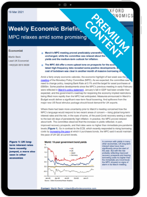 United Kingdom: MPC relaxes amid some promising signs