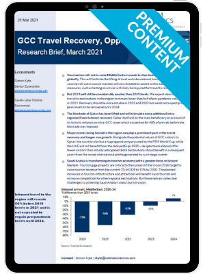 GCC Travel Recovery, Opportunities & Risks